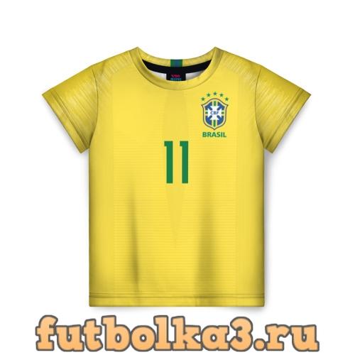 Футболка Coutinho home WC 2018 детская