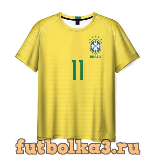 Футболка Coutinho home WC 2018 мужская