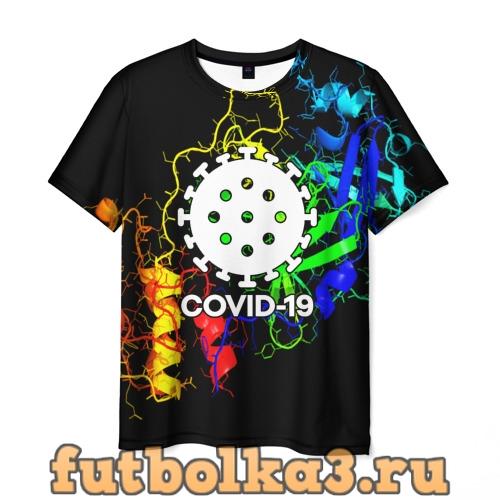 Футболка COVID-19 NEW мужская