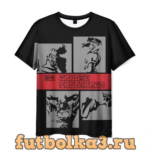 Футболка Cowboy Bebop anime мужская