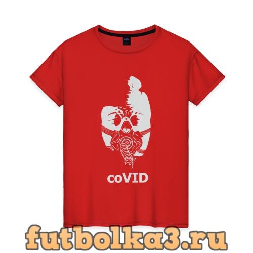 Футболка coVID женская