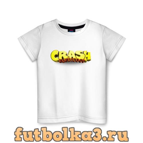 Футболка Crash Bandicoot Logo (Z) детская
