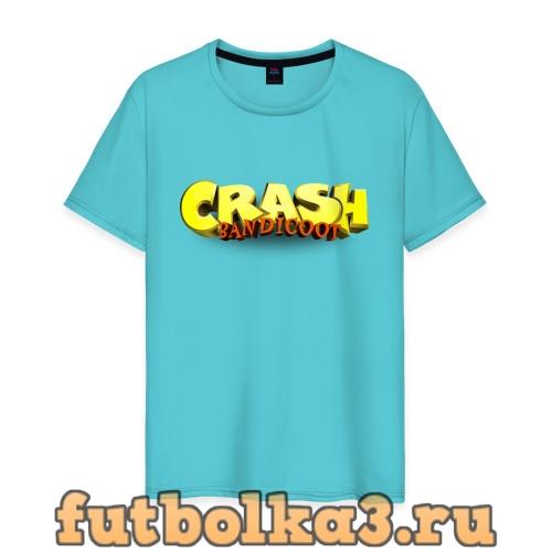 Футболка Crash Bandicoot Logo (Z) мужская