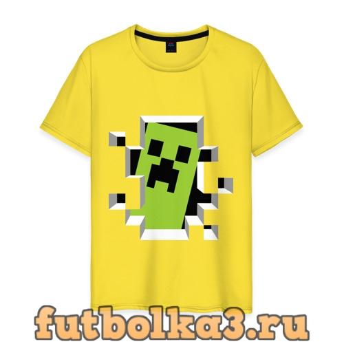Футболка Crash Minecraft мужская