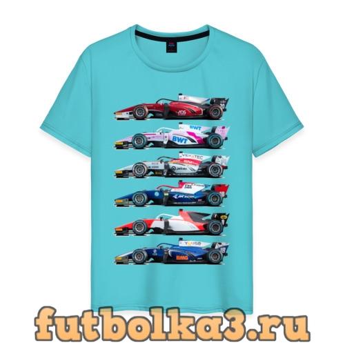 Футболка F1 Болиды 2 мужская