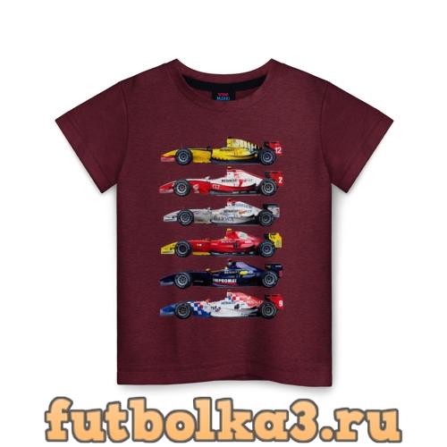 Футболка F1 Болиды 3 детская
