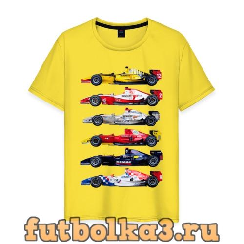 Футболка F1 Болиды 3 мужская