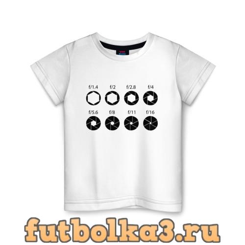 Футболка F/1.4-16 детская
