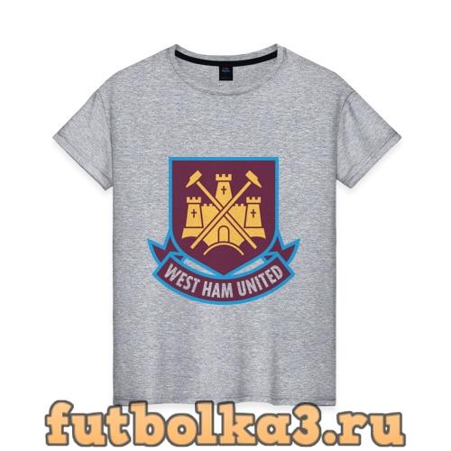 Футболка FA Premier League-West Hamted женская