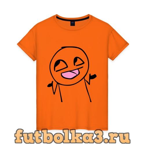 Футболка face женская