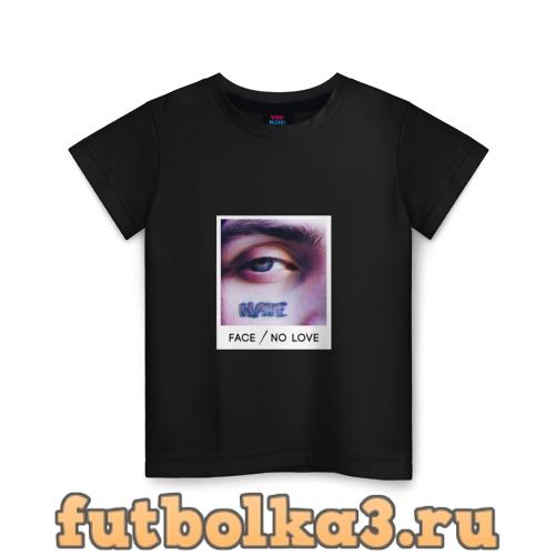 Футболка Face No Love детская
