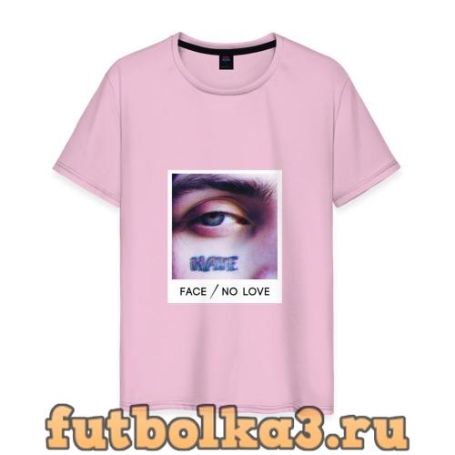 Футболка Face No Love мужская