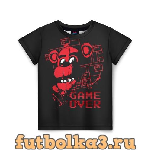 Футболка Five Nights at Freddy детская