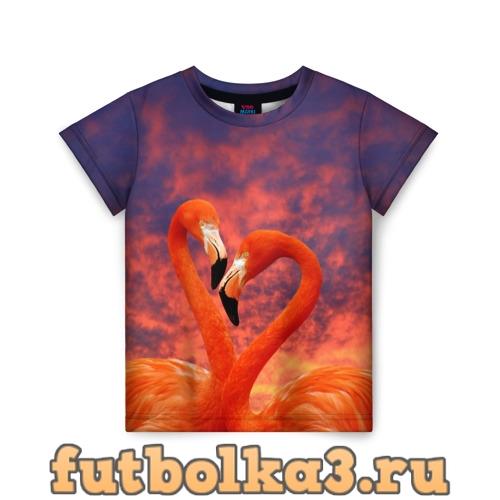 Футболка Flamingo Love детская