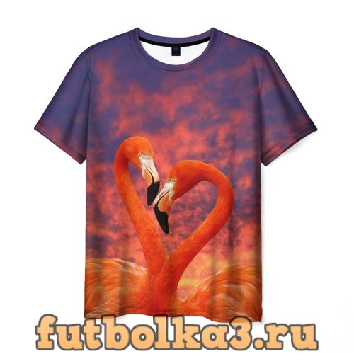 Футболка Flamingo Love мужская