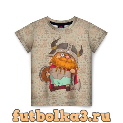 Футболка Мультяшный викинг детская