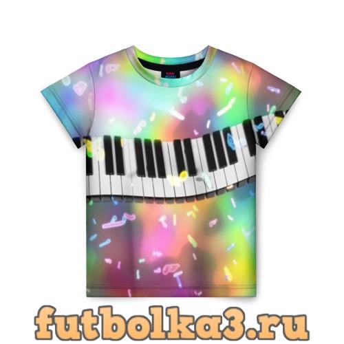 Футболка music детская