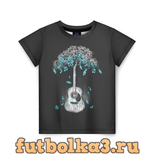 Футболка Музыка Природы детская