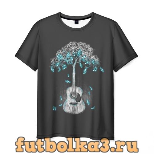 Футболка Музыка Природы мужская