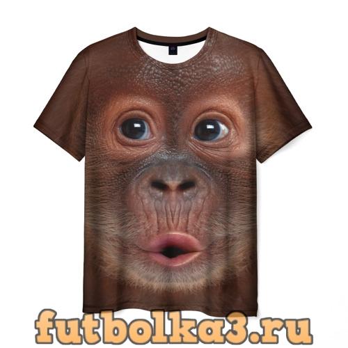 Футболка Орангутанг BigFace мужская