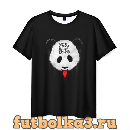 Футболка _Panda_ мужская