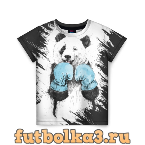Футболка Панда боксер детская
