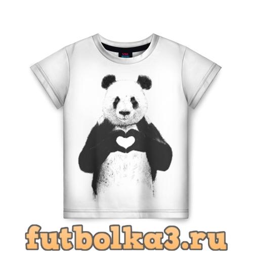 Футболка Панда Love детская