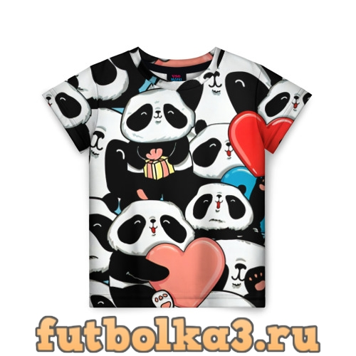 Футболка Панды детская