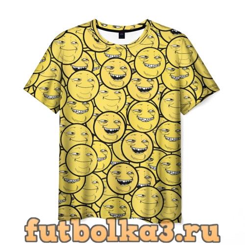 Футболка ПеКа-фейс мужская