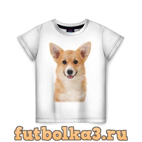 Футболка Пемброк-вельш-корги детская