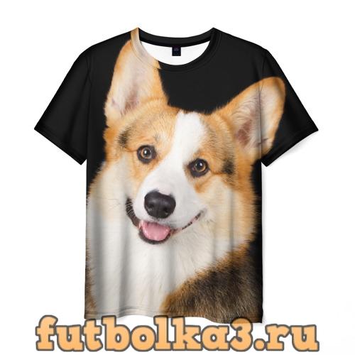 Футболка Пемброк-вельш-корги мужская