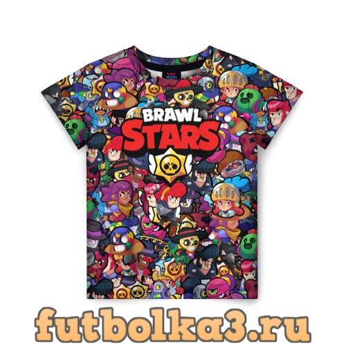 Футболка ПЕРСОНАЖИ BRAWL STARS детская