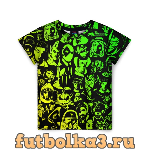 Футболка ПЕРСОНАЖИ FORTNITE детская