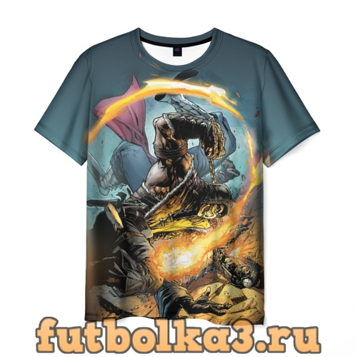 Футболка Scorpion vs Havik мужская
