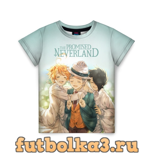 Футболка The Promised Neverland детская
