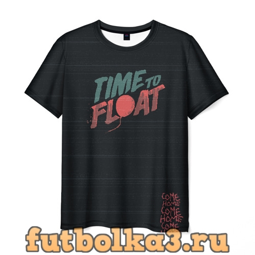 Футболка Time to float мужская