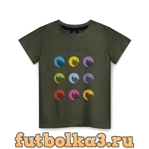 Футболка Flat Adobe детская