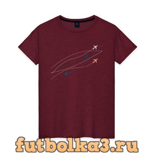 Футболка Flight track женская
