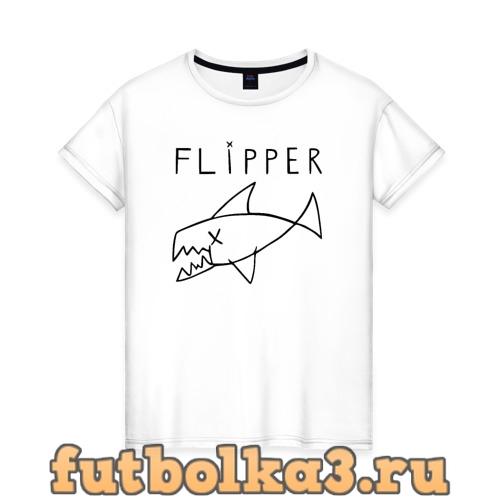 Футболка Flipper женская