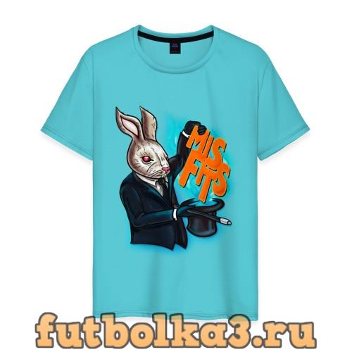Футболка Кролик-психопат мужская