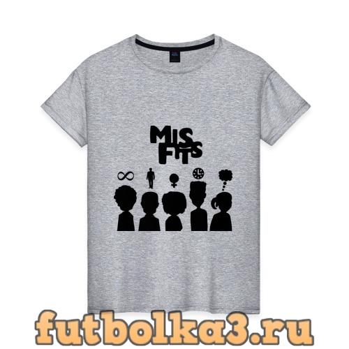 Футболка Misfits:Отбросы женская