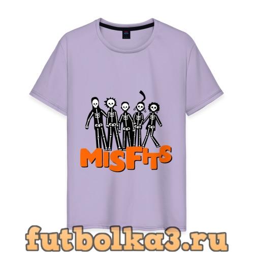 Футболка Отбросы лого мужская