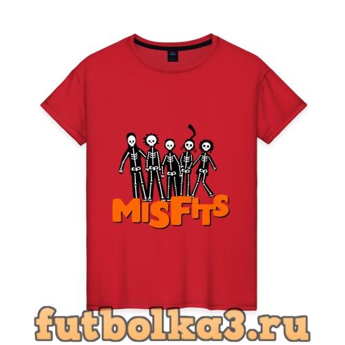 Футболка Отбросы лого женская