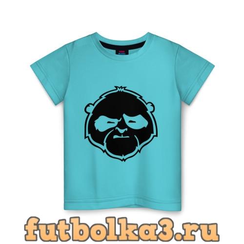 Футболка Панда хмурая детская