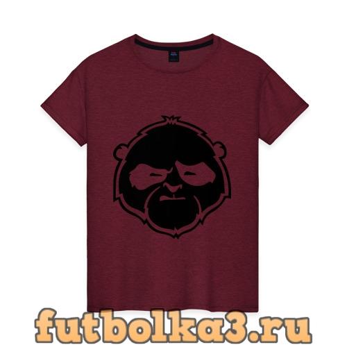 Футболка Панда хмурая женская
