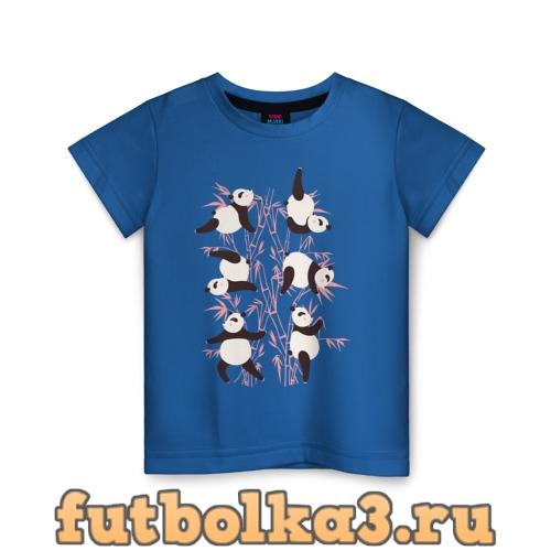 Футболка Панда Йога детская