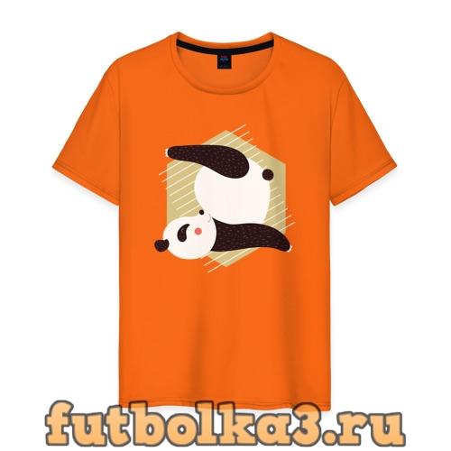 Футболка Панда Йога мужская