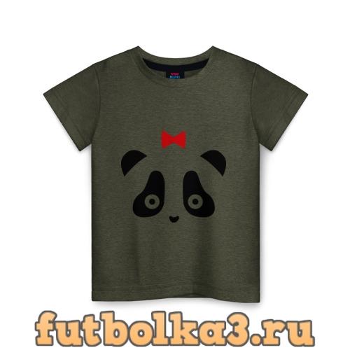 Футболка Панда (женская) детская