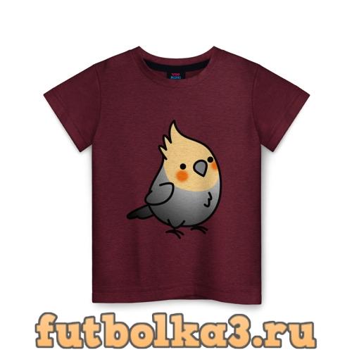 Футболка Папугай детская