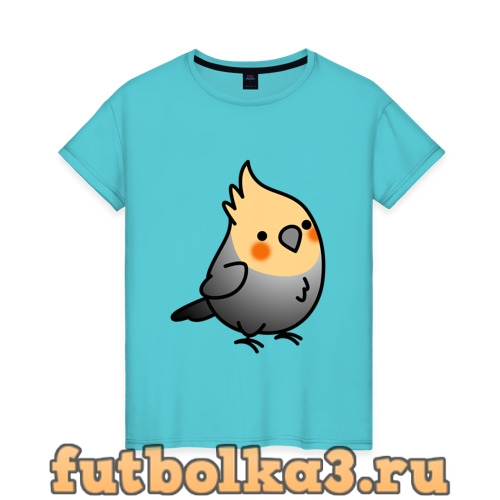 Футболка Папугай женская